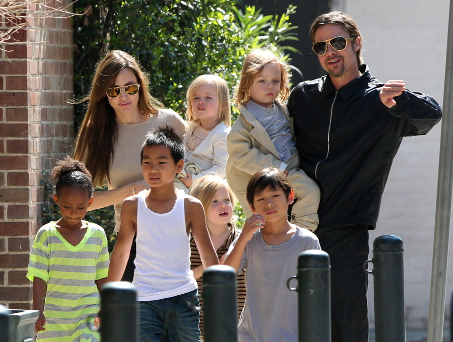 Brad Pitt Family and Children