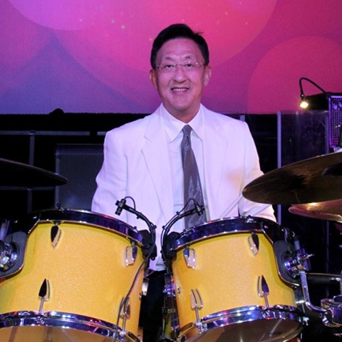 John Tu Playing Drums