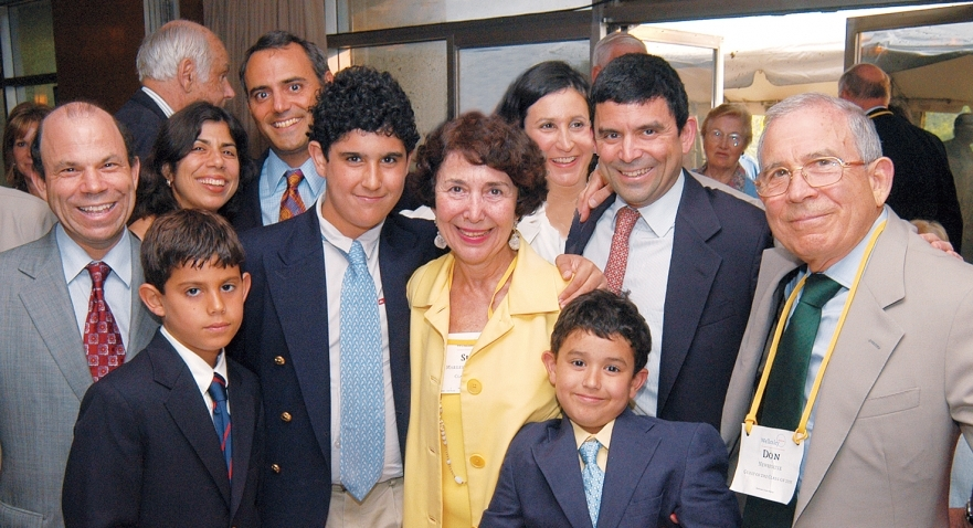 Donald Newhouse Grandchildren