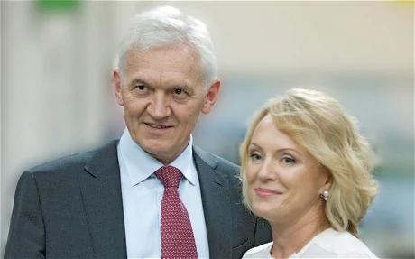 Gennady Timchenko wife Elena Timchenko