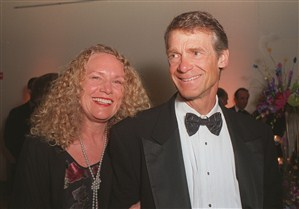 Lukas Walton Parents John and Christy Walton