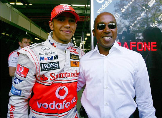 Father of Lewis Hamilton