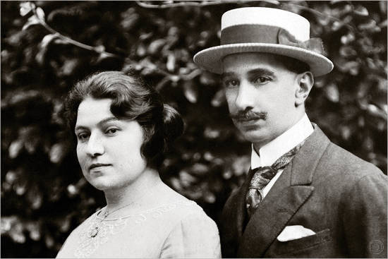 Jose Roberto Marinho's Grand Parents