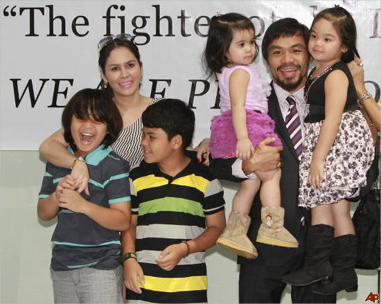 Manny Pacquiao's Children's