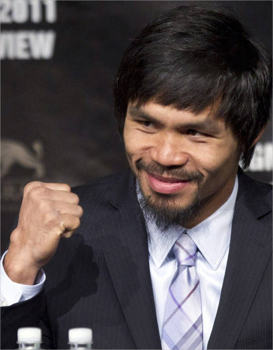 Manny Pacquiao's Net worth