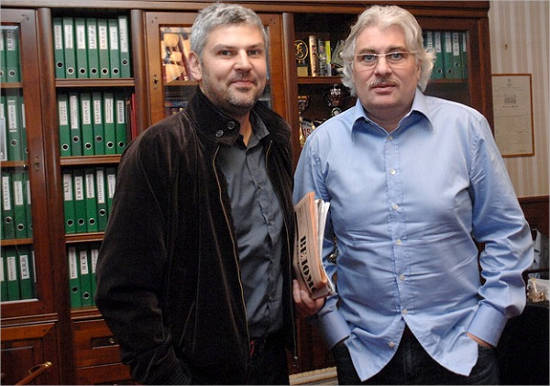 Sergay and Nikolay Sarkiso