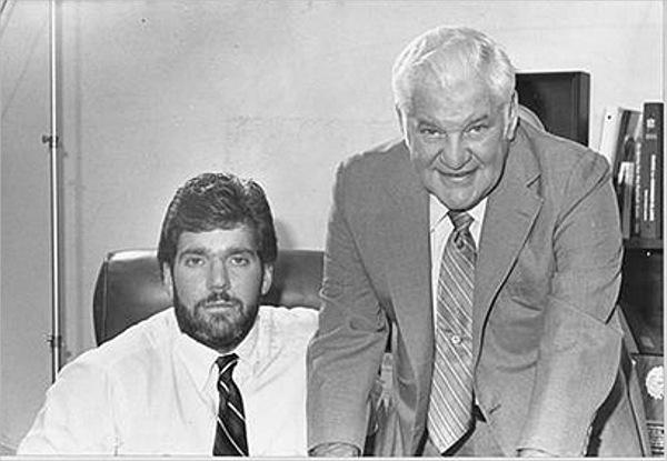 Robert Irsay and son