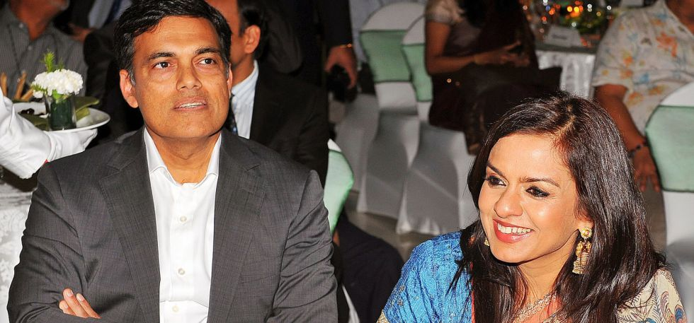 Sajjan is married to Sangita Jindal